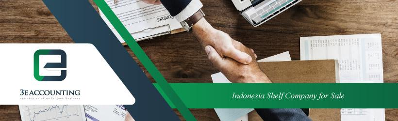 Indonesia Shelf Company for Sale
