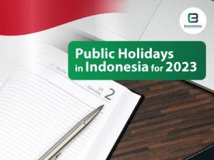 Indonesia Public Holidays 2023