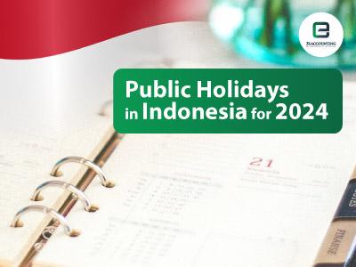 Indonesia Public Holidays 2024