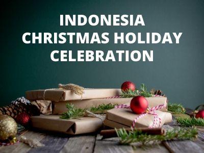 Indonesia Christmas Holiday Celebration