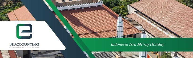 Indonesia Isra Mi'raj Holiday