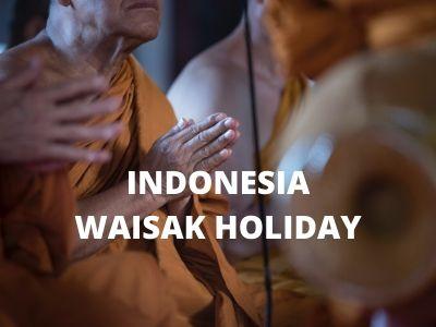 Indonesia Waisak Holiday