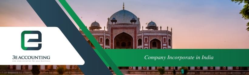 Company Incorporate in India
