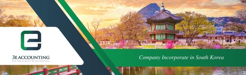 Company Incorporate in South Korea