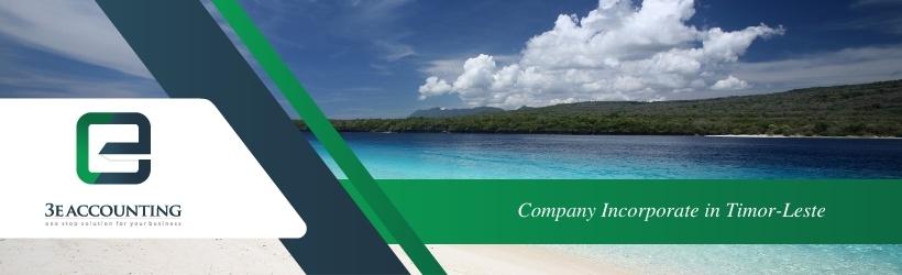 Company Incorporate in Timor-Leste