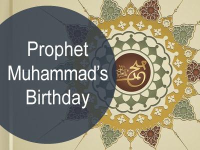Prophet Muhammad's Birthday