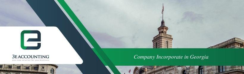 Company Incorporate in Georgia