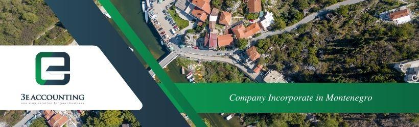 Company Incorporate in Montenegro