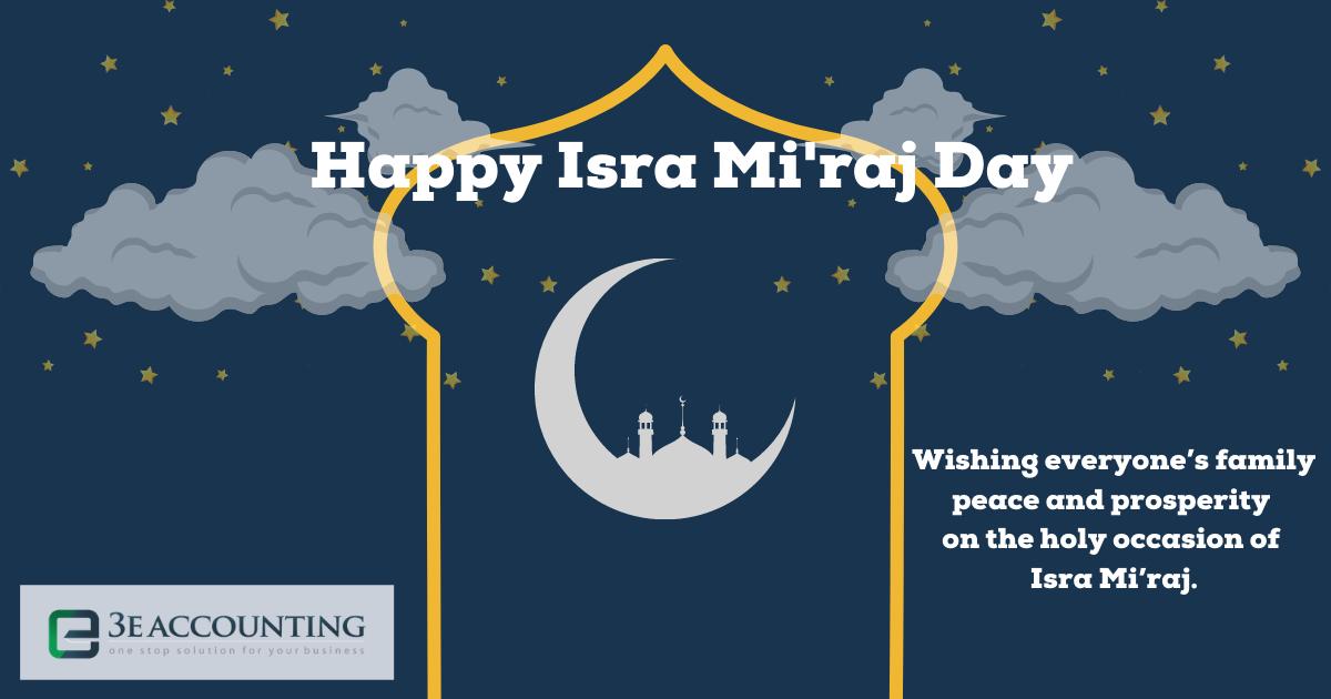 Isra Mi'raj Day Greetings 2021